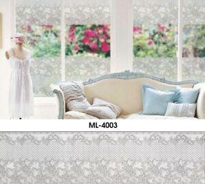 Static Fenster Folie Bistro Gardine Scheibengardine 40cm breit