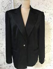 Satin Blazer Formal Plus Size Coats & Jackets for Women