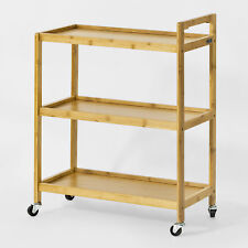 SoBuy® Rolling Kitchen Trolley, Living Room Serving Tea Cart,FKW34-B-N, UK