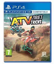 ATV DRIFT AND TRICKS VIDEOGIOCO MOTO CROSS PS4 QUAD ITALIANO PLAY STATION 4