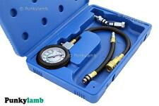 Professional Petrol Engine Compression Gauge Tester Car Garage Tool Test Set