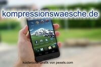 Top-Level. de Domain -> kompressionswaesche.de <- Keyworddomain