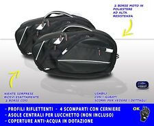 Borse moto laterali XXL portabagagli motocicletta Universali 2 borsa valigie