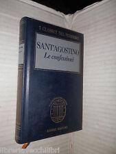 LE CONFESSIONI Sant Agostino Christine Mohrmann Carlo Vitali Fabbri 1996 libro