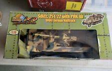 Ultimate Soldier WW11 German Halftrack Sdkfz.251/22 Pak 40 1.18 Scale