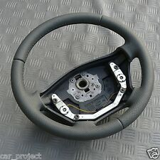 Volante per Mercedes Vito 638 Nuovo Con Pelle Bezogen. Grigio Leder. Sprinter