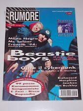 rumore_giugno 1994_n.28_BEASTIE BOYS_MANO NEGRA_KYUSS_CYBERPUNK_McSOLAAR_JAWBOX