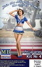 Masterbox-Pin-Up Girls donne 1 figure Suzie - 1:24 (32/35) - Modello Kit Usa