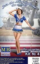 Masterbox - Pin-up Girls Frauen 1 Figure Suzie - 1:24 (32/35) Modell-Bausatz USA