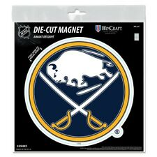 """BUFFALO SABRES 6""""X6"""" DIE-CUT MAGNET FOR INDOOR OR OUTDOOR USE HIGH QUALITY"""
