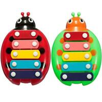 HOT Baby Child Kids 5-Note Xylophone Musical Toys Wisdom Development Beetle GA