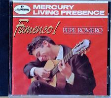PEPE ROMERO - FLAMENCO - MERCURY LIVING PRESENCE - 1995 CD