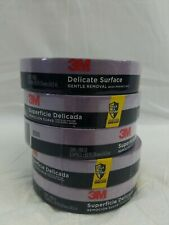 "5--3M Delicate Surface Safe Release Edge Lock .94"" X 60 YD. Painters Tape 2080"
