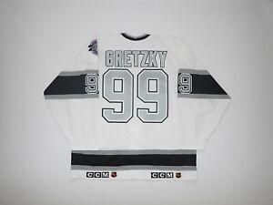 1991-92 Los Angeles Kings Wayne Gretzky Authentic CCM Ultrafil Jersey Size 52