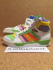 ADIDAS CONDUCTOR HI EASTER SZ 9 white warning macaw 2008 vintage rare originals