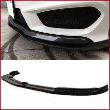 R Type Carbon Fiber Front Lip Fit 13-17 M-Benz W117 C117 CLA45 CLA250 AMG Bumper