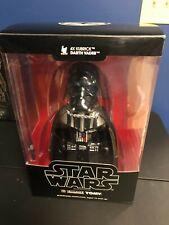 Star Wars Medicom Kubrick 400% 4x Darth Vader Figure Removable Helmet TOMY 2006