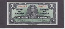 Canada Pick #58 1 Dollar 1937 King George VI Superb Gem Unc !! Rare this nice !!