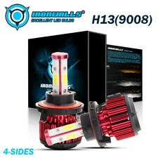 New listing  00004000 4-Sides Cree H13 9008 Led Headlight Bulb Kits for Dodge Ram 1500 2500 3500 06-12