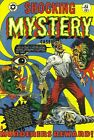 Shocking Mystery Cases 51 Comic Book Cover Art Giclee Reproduction on Canvas