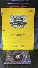 Cyclone - Williams -Pinball Manual -Schematics Instructions
