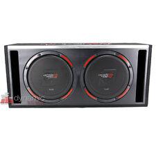"Cerwin Vega H6E10DV 10"" Car Stereo Dual Subwoofers Loaded Sub Enclosure New"
