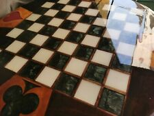 wooden chess table, wooden chess board only, chess set handmade, game table