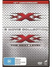 xXx 1 - 2: The Next Level DVD NEW 2-movie Collection Region 4