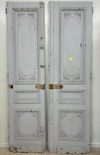 Pair of French Antique Doors/Double Doors-Solid Old Growth Fir Wood
