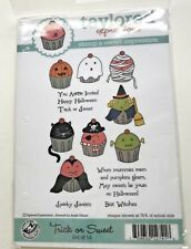 """TAYLORED EXPRESSIONS """"TRICK OR SWEET"""" - CUPPIES, HALLOWEEN, WITCH, GHOST, HTF"""