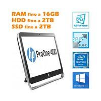 """HP Profi One 400 G1 All IN Pentium G3420T 21,5 """" Full HD Wifi Bluetooth RS232"""