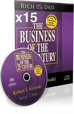 x15 Rich Dad The Business of The 21st Century By Robert T. Kiyosaki Audio CD Lot