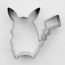 Pokemon Pikachu Cookie Cutter Pastry Fondant Baking Stainlees Steel Biscuit Mold