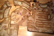 British Army Osprey DDPM Mk2 Body Armour Ensemble Cover. Used, Size 190/120