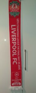 Liverpool FC 2005 Istanbul Official Champions League Scarf
