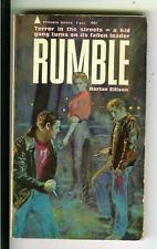 RUMBLE by Harlan Ellison, US Pyramid #F866 2nd crime noir gga pulp vintage pb