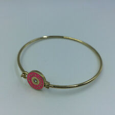 Hot Sale Marc by Marc Jacobs Pink&Gold Logo Letters Bracelet #B3024