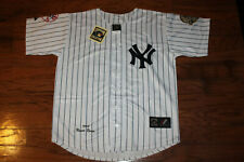 New York Yankees #42 Mariano Rivera White Home Jersey w/Tags Size M (Adult)