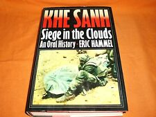 khe sanh siege in the clouds an oral history eric hammel