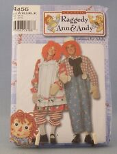 Raggedy AnnAndy Daisy Kingdom Costume 4456 Adult Halloween XS - XL Male Female