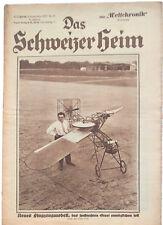 1928 Das Schweizer Heim, Swiss Family Home Magazine, 32 Illustrated Pages German