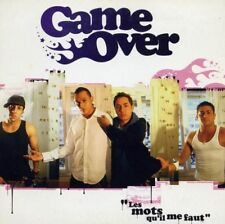 GAME OVER - LES MOTS QU'IL ME FAUT - CD SINGLE CARDSLEEVE PROMO 1T TRES RARE