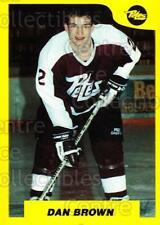 1989-90 7th Inning Sketch OHL #99 Dan Brown