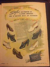 BEDGGOOD Arch lock Women's Shoes Australian Original 1940s Vintage Print Ad