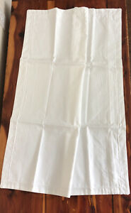 Hotel Collection Supima Cotton 825 Thread Count Standard Pillow Sham White