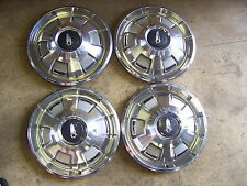 1968 PLYMOUTH BARRACUDA HUBCAPS WHEEL COVERS  1969 SATELLITE BELVEDERE  VALIANT