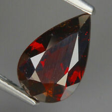 2.07 carats Natural Red Spessartine GARNET Africa for Jewelry Setting Pear