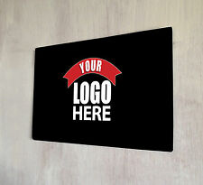 Personalised with your Logo sign A4 metal plaque pubs clubs cocktail bars