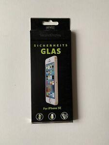 ARTWIZZ SecondDisplay Schutzglas, iPhone SE/5s/5c/5  Displayschutz (Neu/OVP)