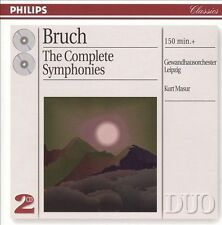 Audio CD: Bruch: The Complete Symphonies, . Good Cond. Import. 028946216422